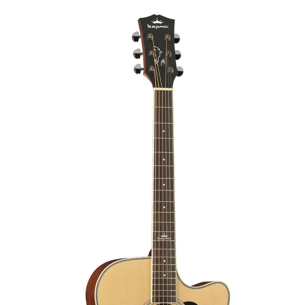 KEPMA D1C  Acoustic Guitar-- Natural Matt