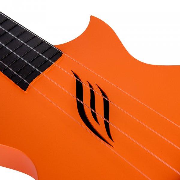 Enya Concert Nova U Carbon Fiber Travel Ukulele- Orange