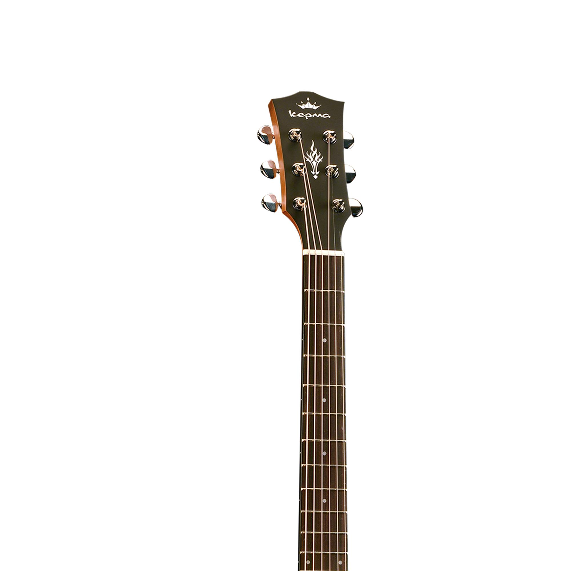 Kepma EAC Acoustic Guitar - Sunburst Matt