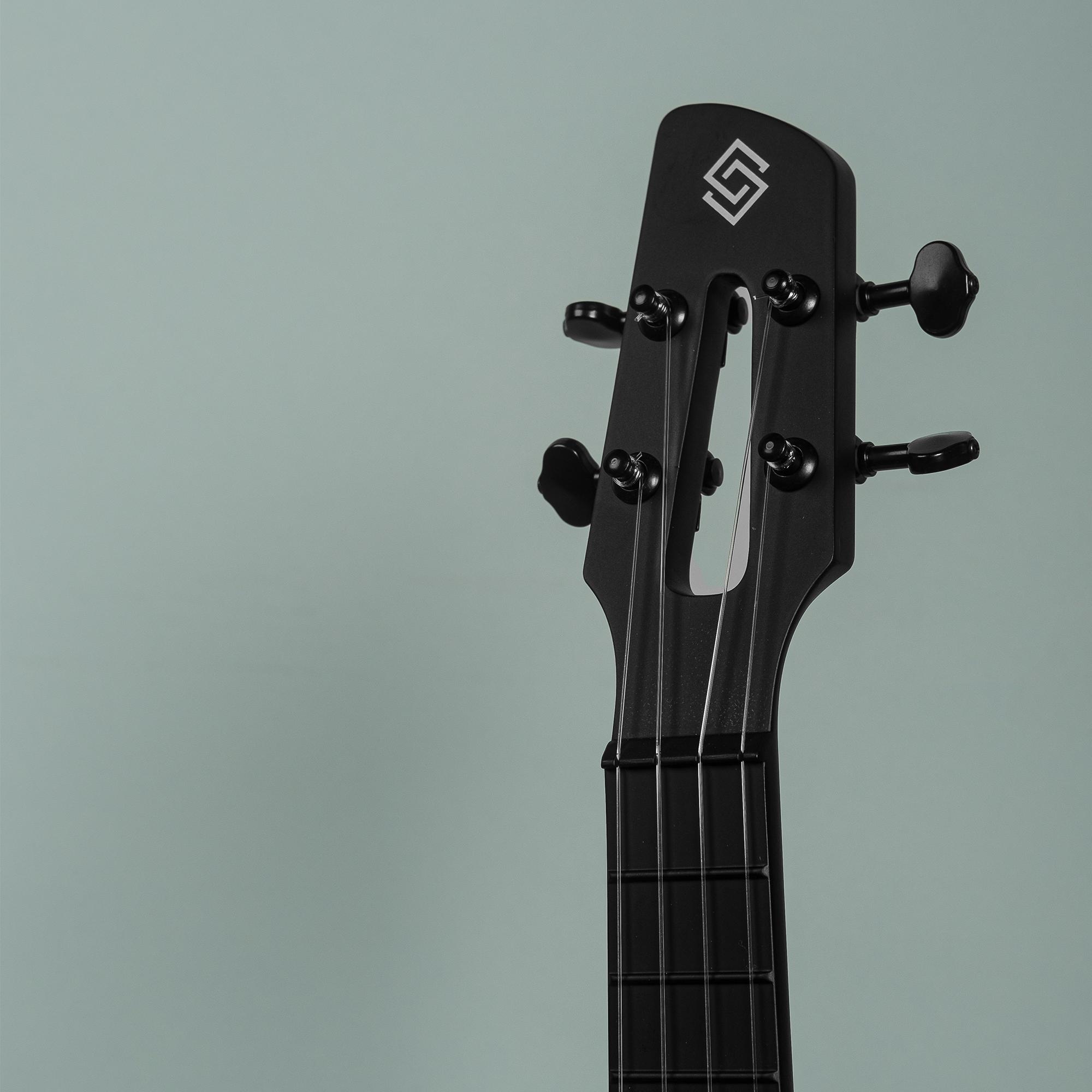 Strydom Concert BM-9C Carbon Fiber Travel Ukulele- Noir