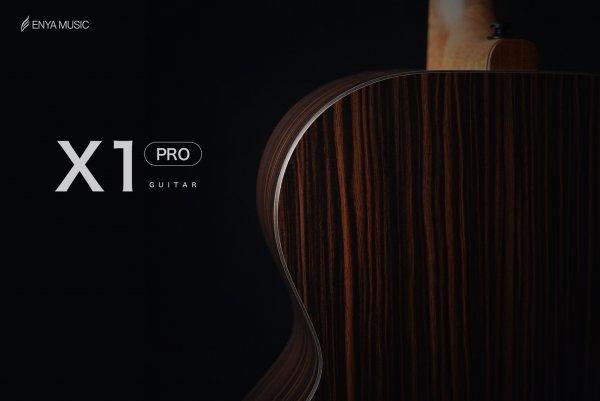 """Enya EA-X1  PRO EQ  """"41""""  TransAcoustic Guitar- Natural Matt Finish"""