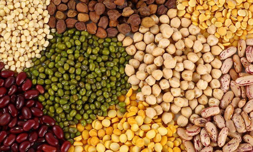Organic dals and pulses