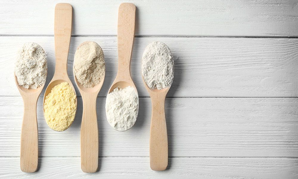 Healthy alternatives to wheat flour, that makes your day