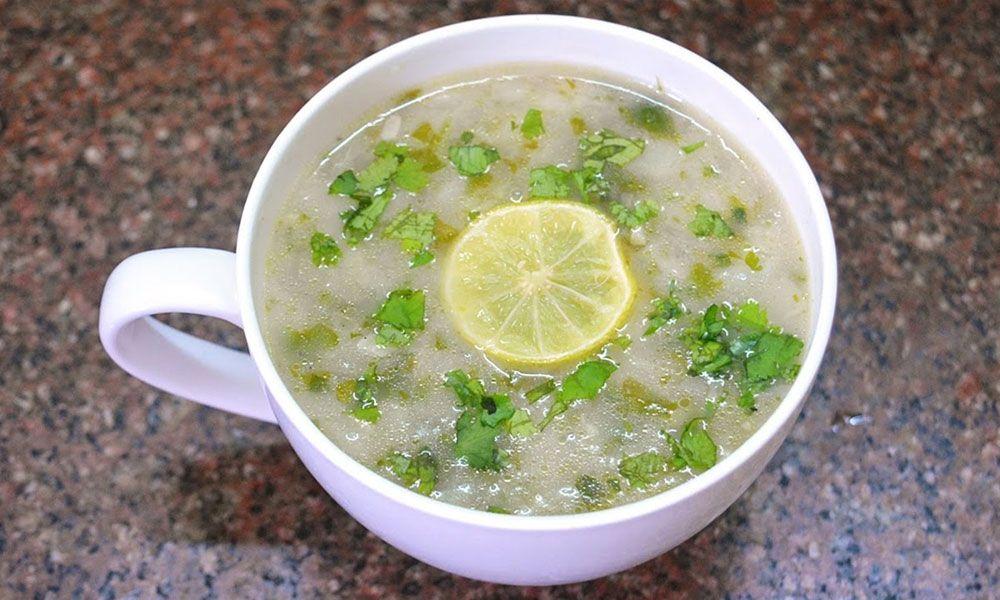 Refresh Lemon Coriander Soup
