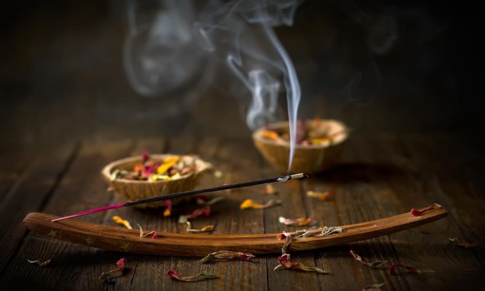 The Smoke of Agarbatti