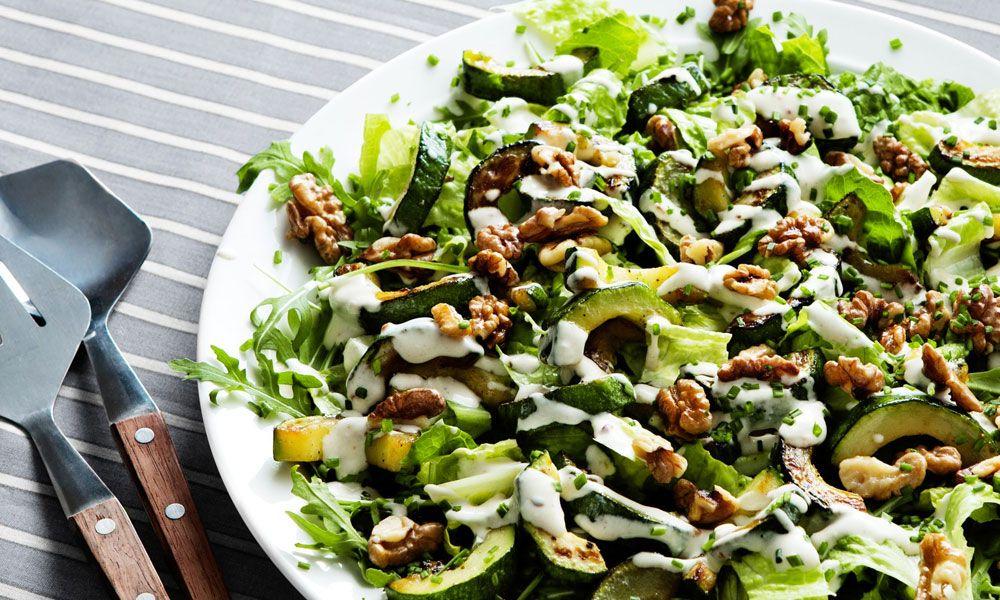 Refresh Walnut Lettuce Salad Recipe