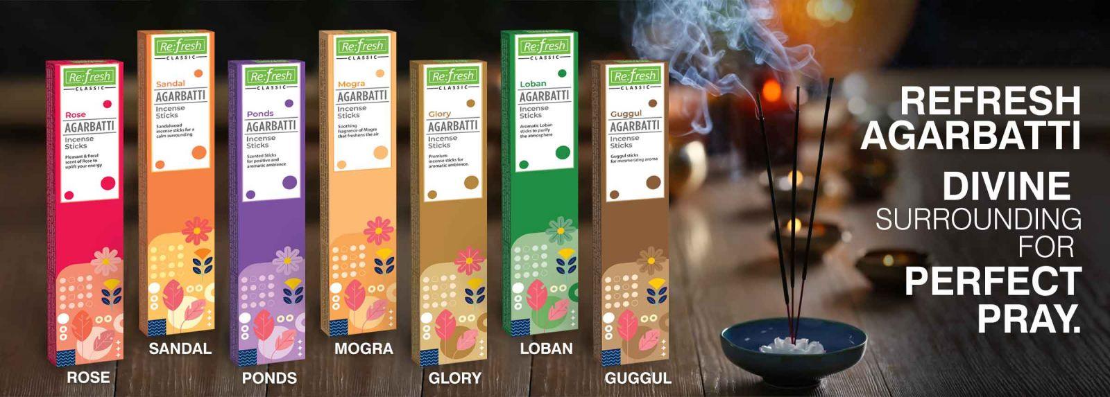 Agarbatti (Incense Sticks)