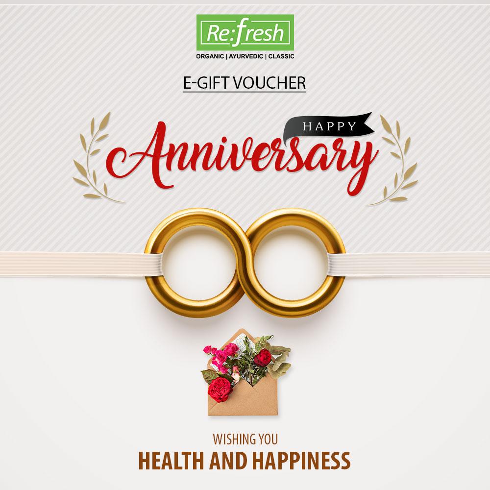 Anniversary E Gift Voucher