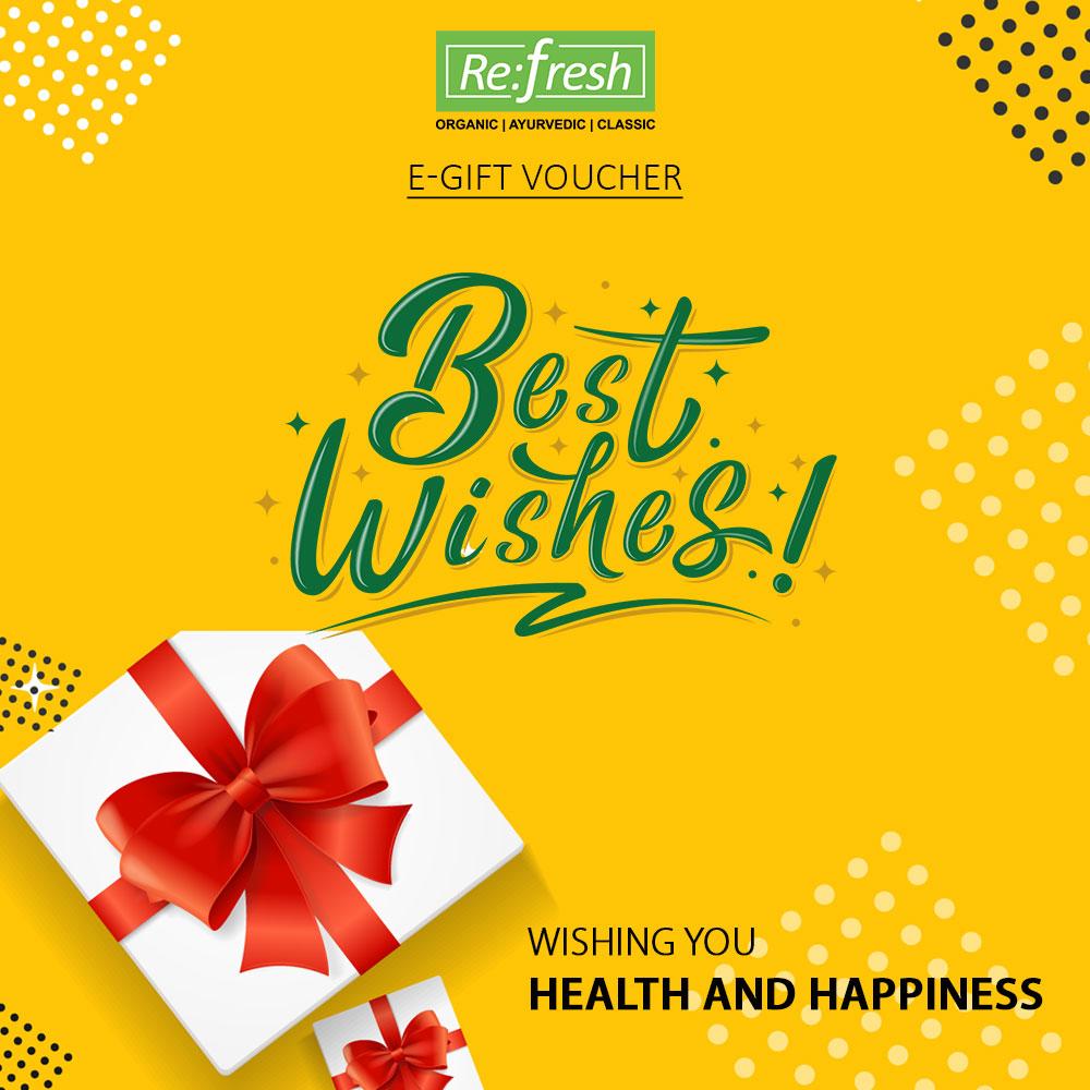 Best Wishes E Gift Voucher
