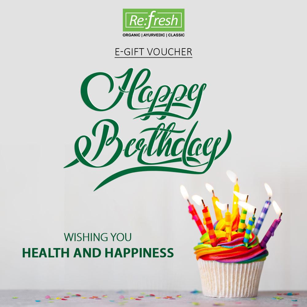 Birthday E Gift Voucher