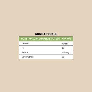 GUNDA PICKLE