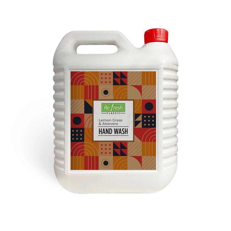 LEMON GRASS & ALOEVERA HAND WASH