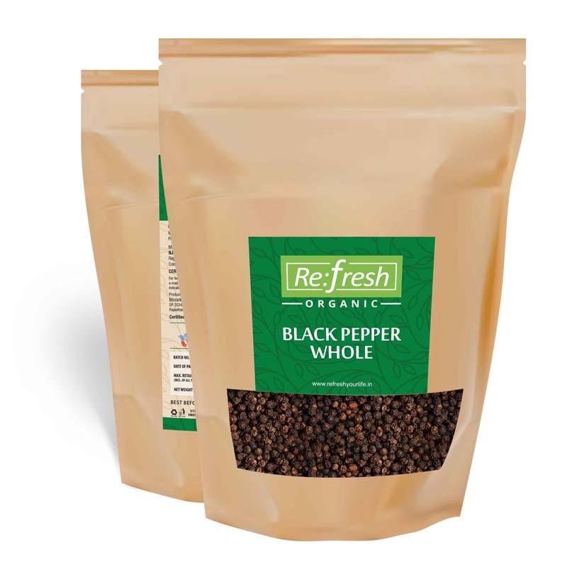 Organic Black Pepper Whole