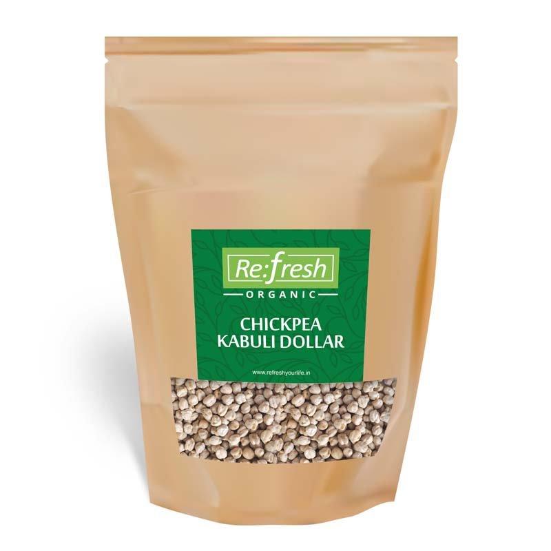 Organic Chickpea Kabuli Dollar