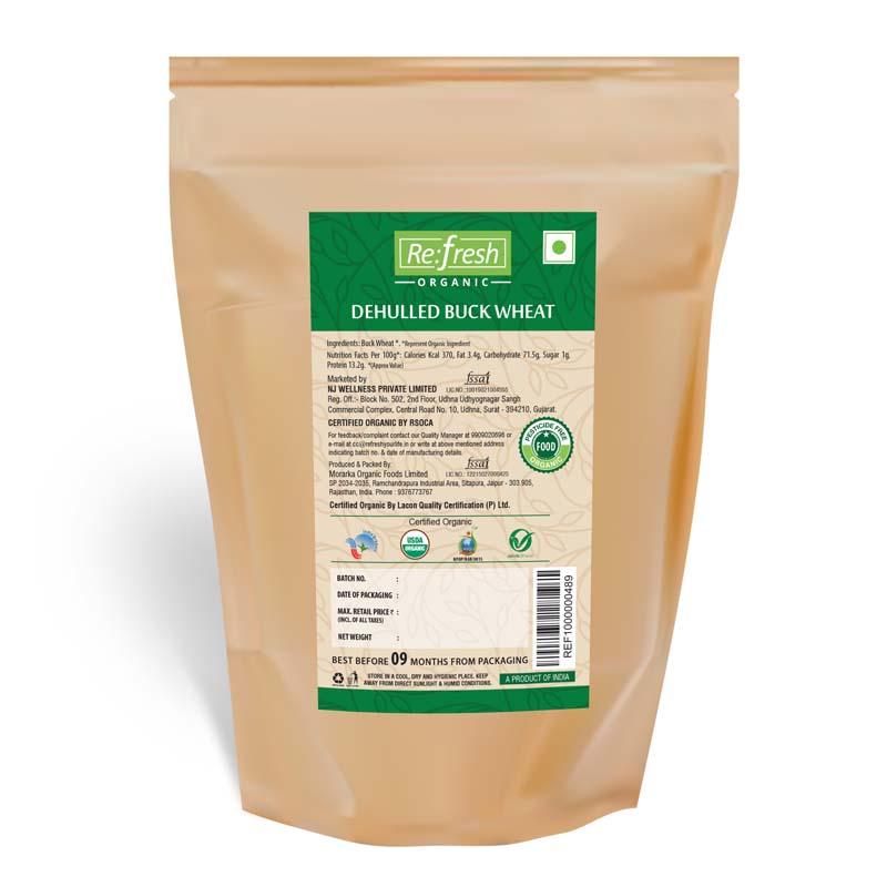 Organic Dehulled Buck Wheat