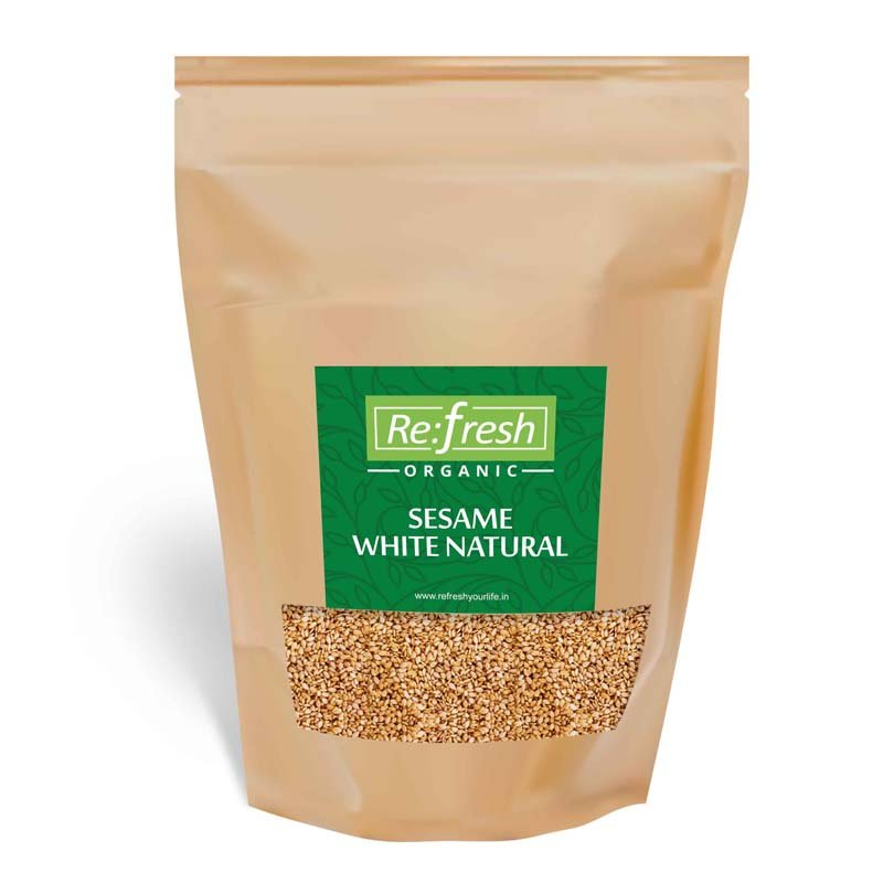 Organic Sesame White Natural