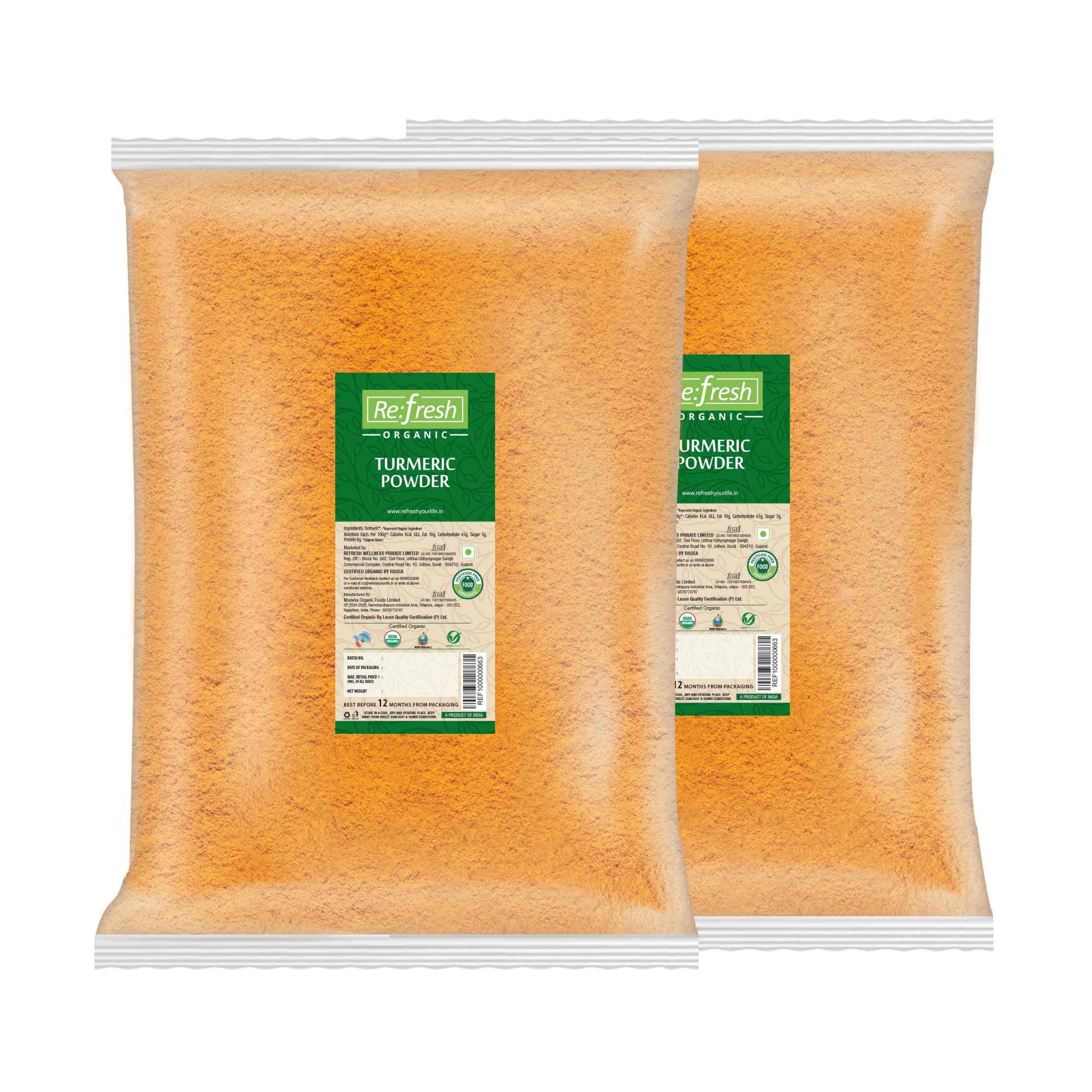 Organic Turmeric Powder - 2 KG