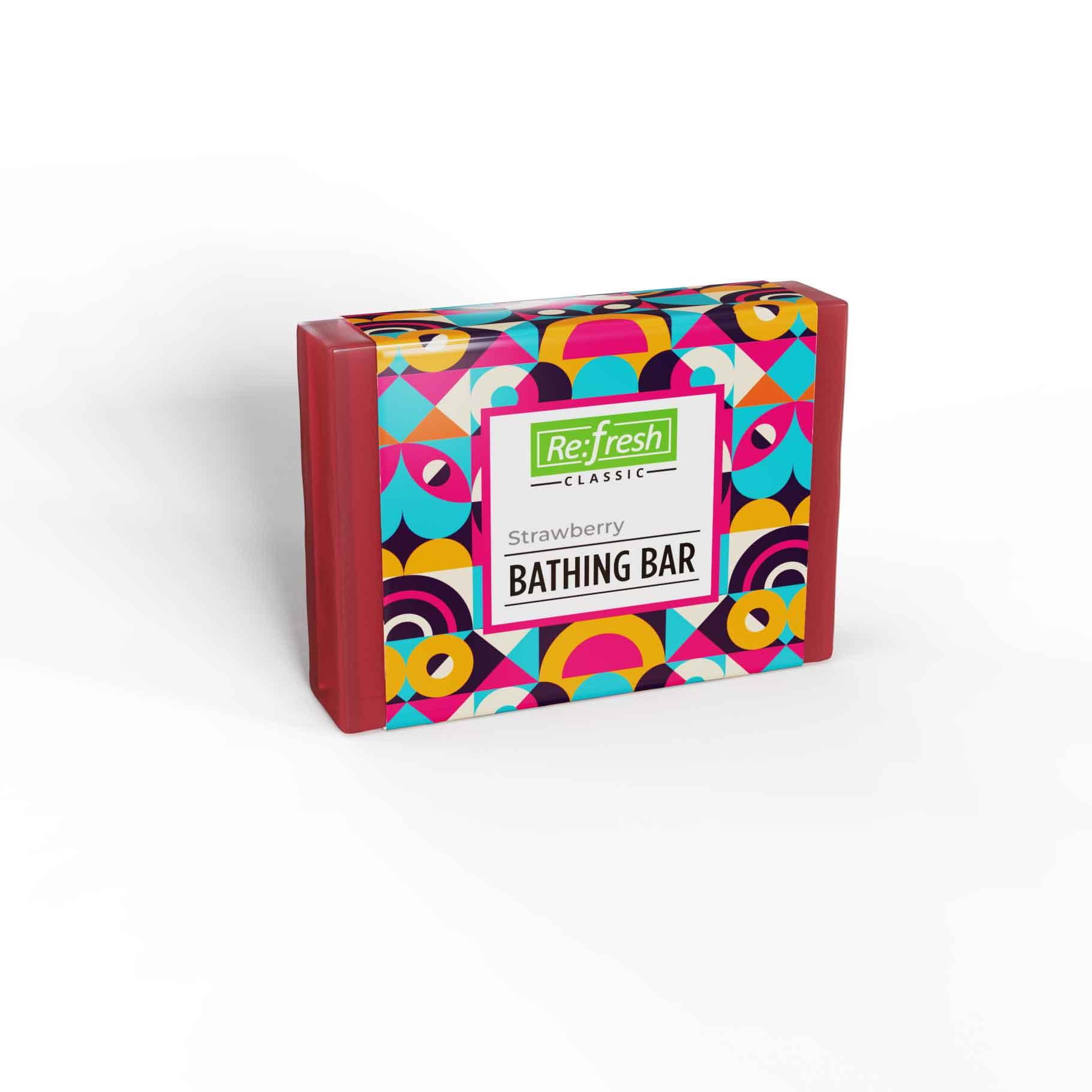 STRAWBERRY BATHING BAR
