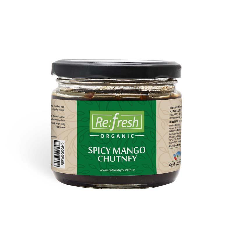Organic Spicy Mango Chutney