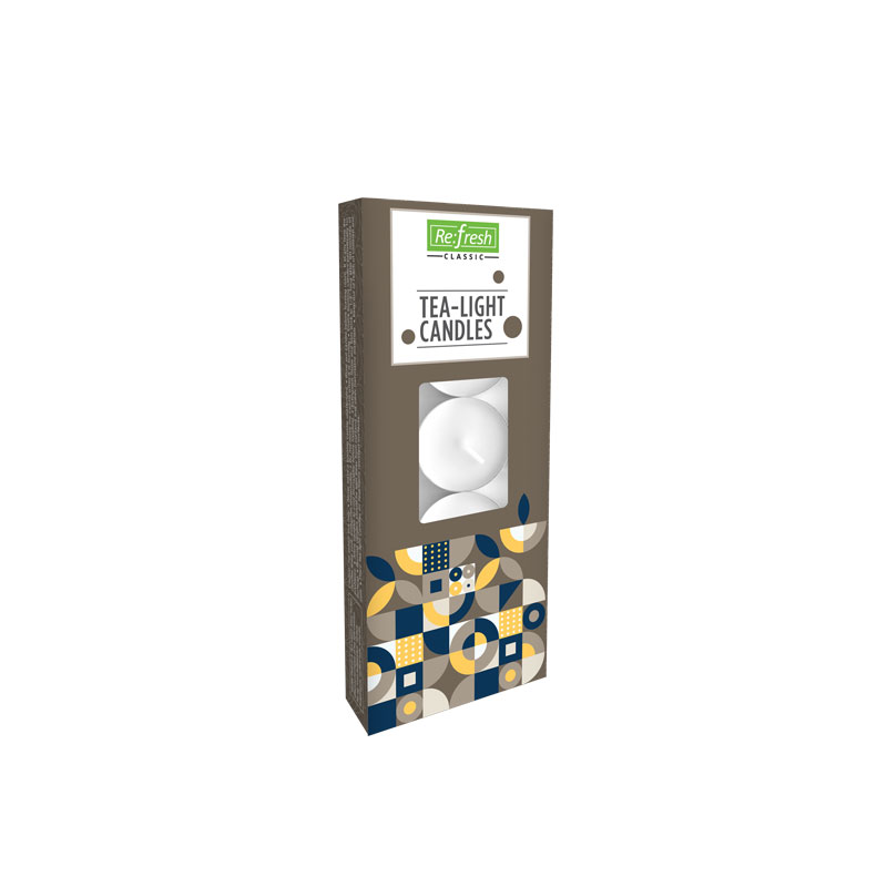 WHITE TEA-LIGHT CANDLES