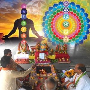 Seven Chakras Balancing Puja