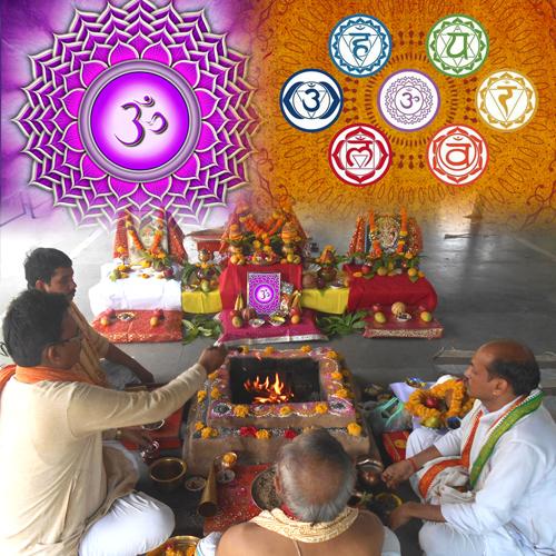 Crown Chakra / Sahasrara Chakra Balancing Puja
