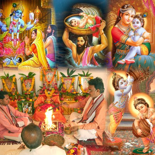 Krishna Janmashtami Puja & Abhishekam