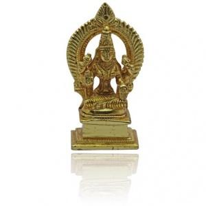Lakshmi Idol in Golden finish