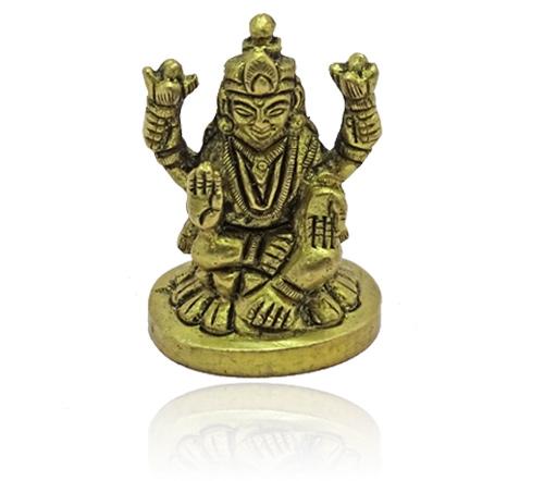 Lakshmi Idol - Small Round