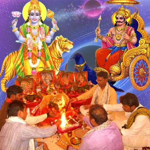 Shani Rahu Shrapit Dosh Nivaran Puja