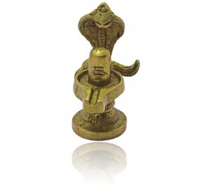 Shivlingam in Brass - Small