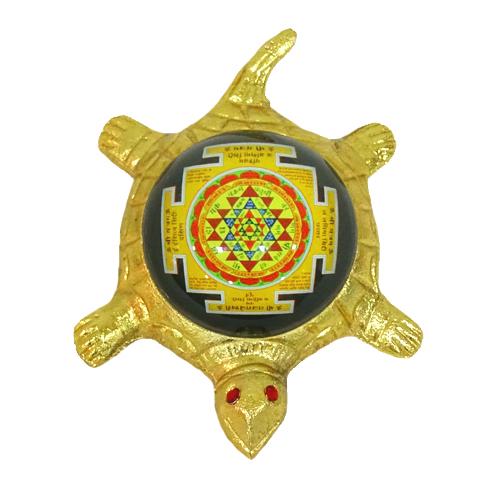 Tortoise with Shree Yantra