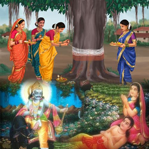 Vat Savitri Vrat Katha & Puja
