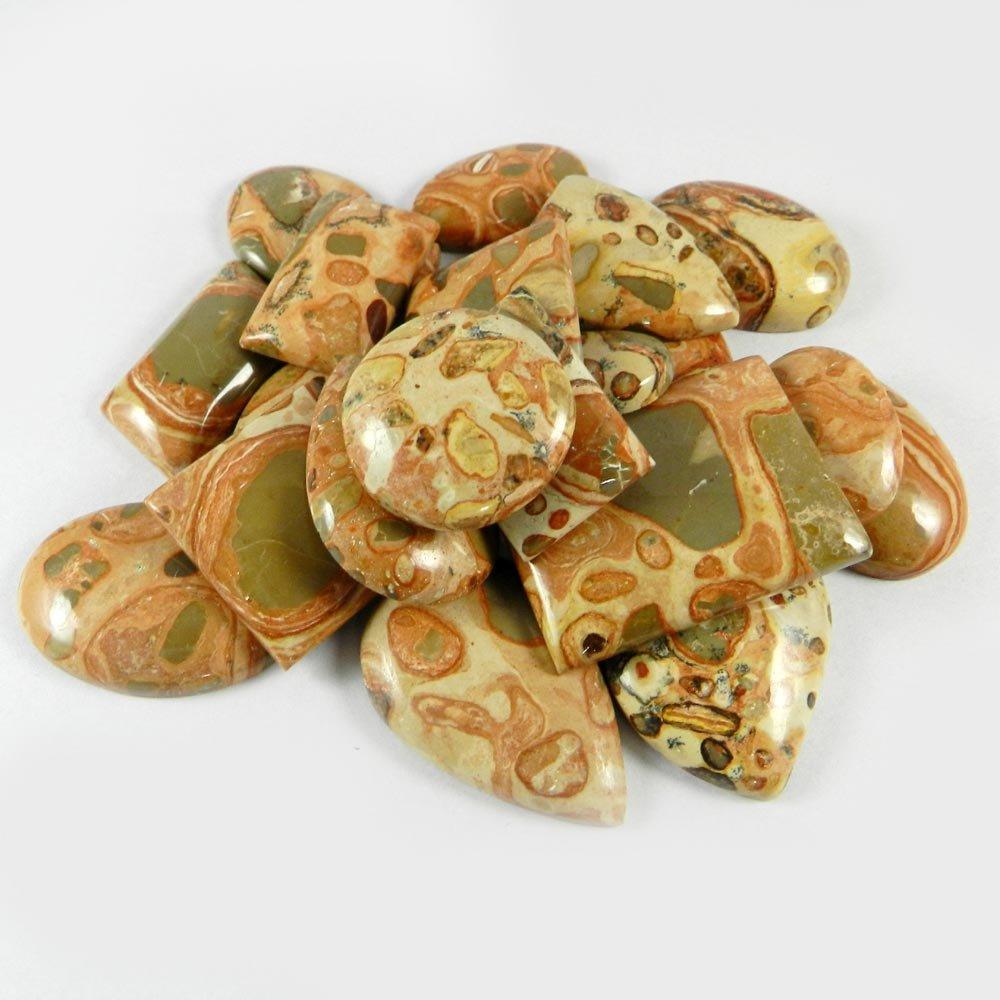 23 Pcs Mookaite Jasper Mix Freeform Cabochon 100 Gms