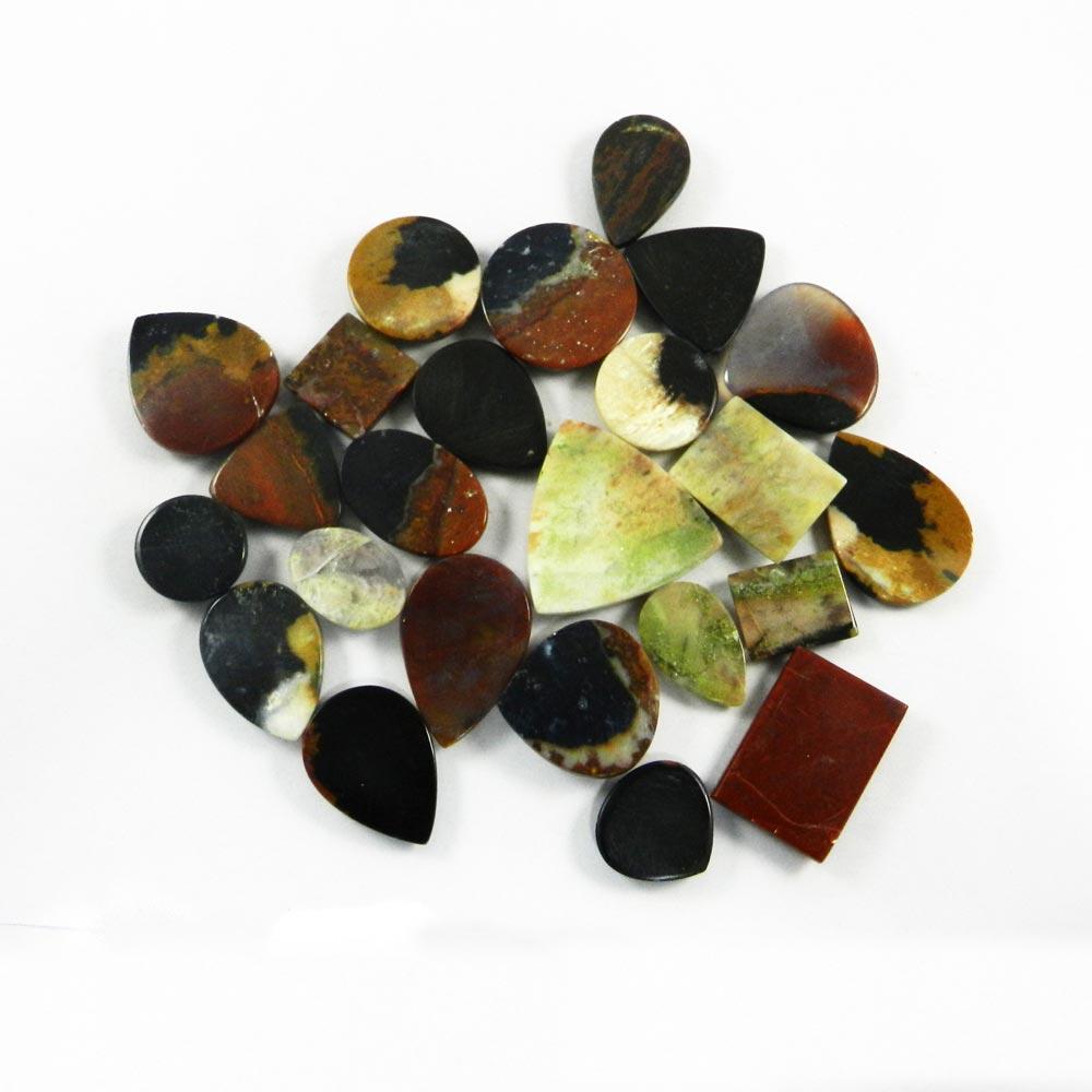 24 Pcs Multi Astrophyllite Mix Freeform Cabochon 100 Gms