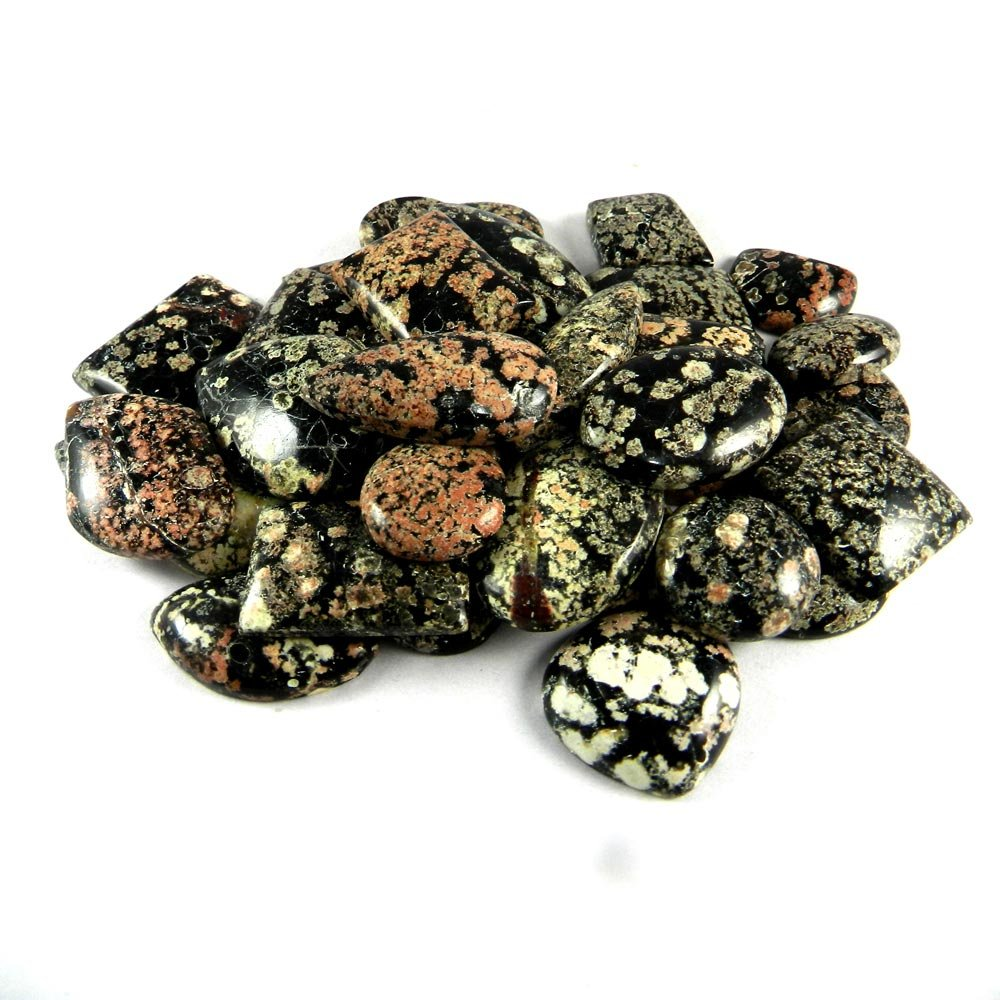 36 Pcs Fireworks Obsidian Mix Freeform Cabochon 100 Gms