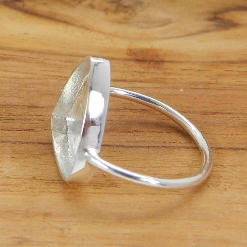 925 Sterling Silver Ring Collet 3X3mm To 20x20mm Trillion Stone Close Back Bezel Cup For Ring Making Metal Casting For Ring Setting