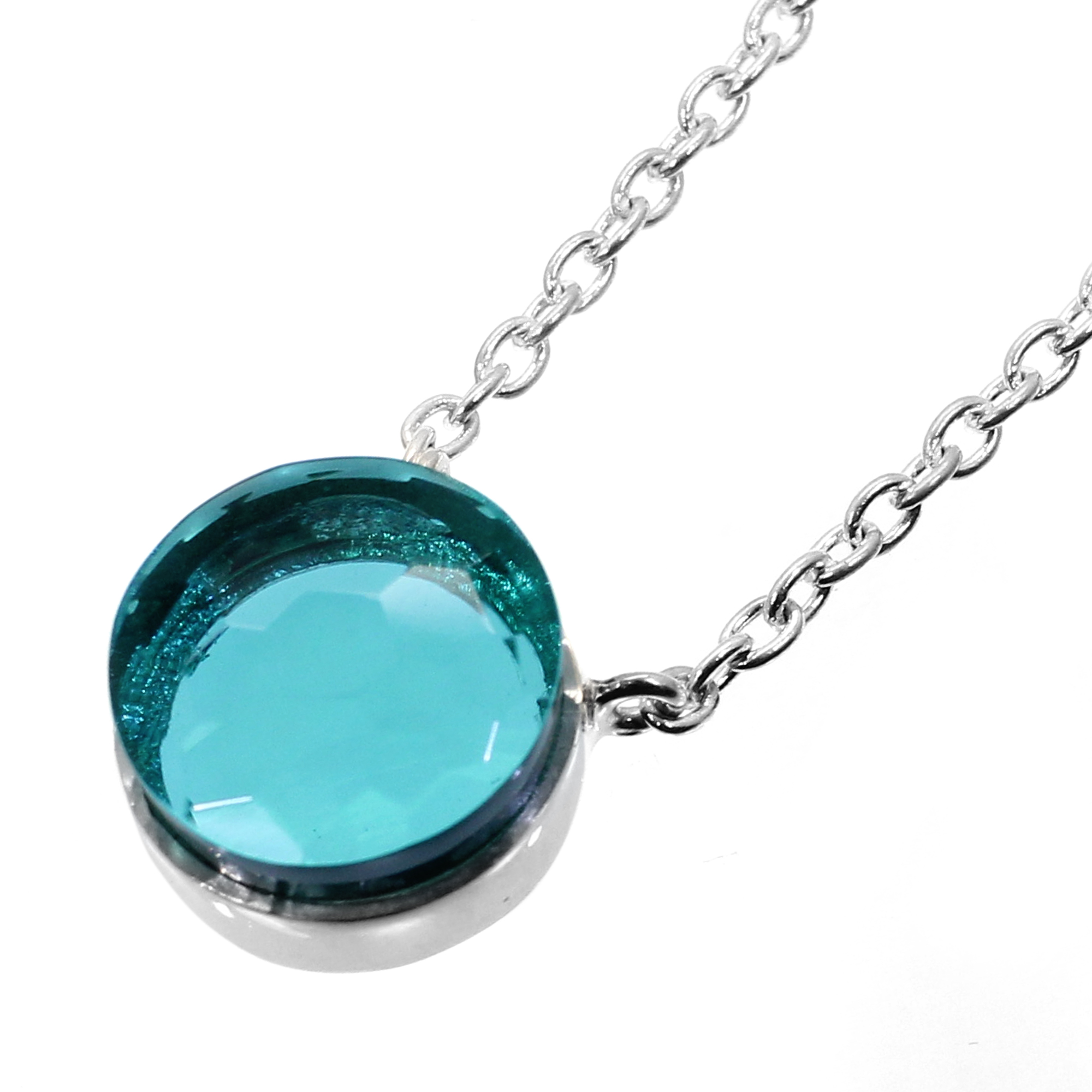 Apatite Hydro 925 Sterling Silver Long Chain Necklace