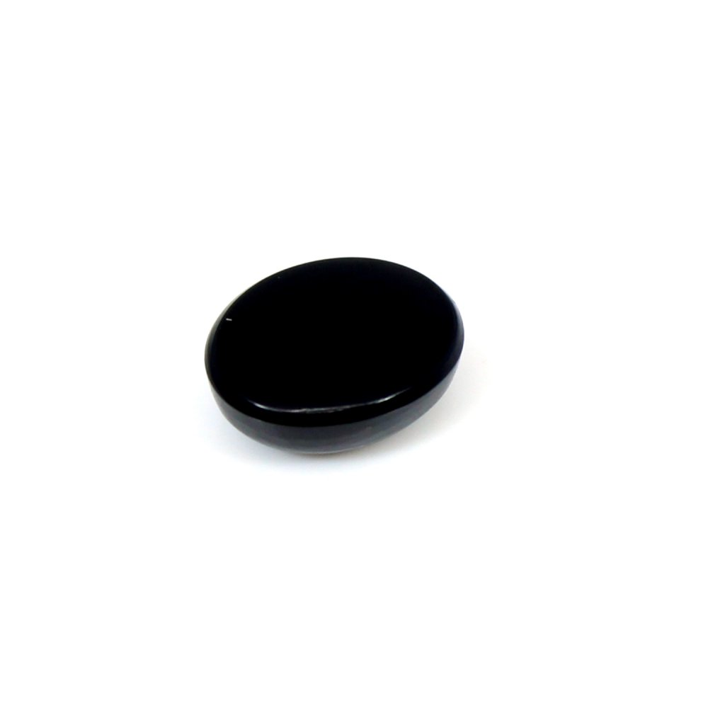 Hot Sale Natural Black Onyx 9x7mm Oval Cabochon 1.90 Cts Loose Gemstone