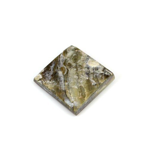 Hot Sale Natural Mother Of Pearl 19.70 Cts Square Flat 20x20mm Loose Gemstone