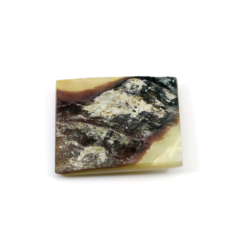 Hot Sale Natural Mother Of Pearl Rectangle Cabochon 24x20mm 26.10 Cts Loose Gemstone For Making Jewelry