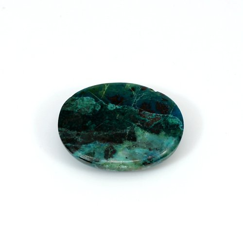 Hot Selling Natural Chrysocolla 16.50 Cts Oval Cabochon 21x16mm Loose Gemstone