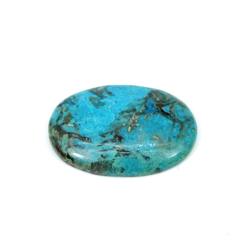 Hot Selling Natural Chrysocolla 27x19mm Oval Cabochon 20.55 Cts Loose Gemstone