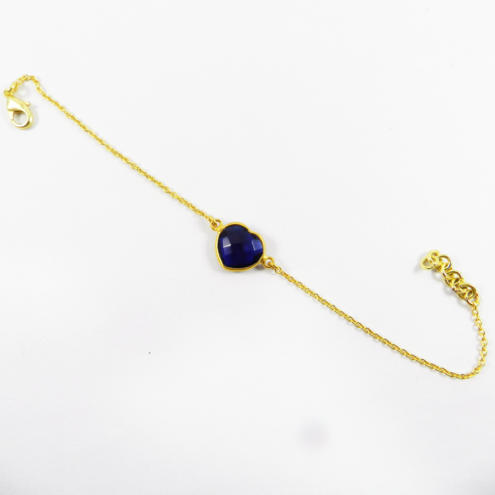 Iolite Hydro Gold Plated 8
