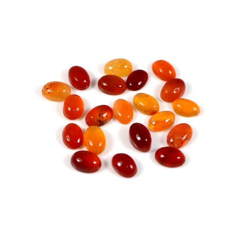 Manufacturer & Supply Natural Carnelian Gemstone Oval Cabochon 0.70 Cts 4x6mm