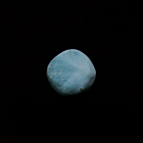 Natural Larimar 8mm Cushion Cabochon 2.45 Cts Loose Gemstone For Jewelry Making