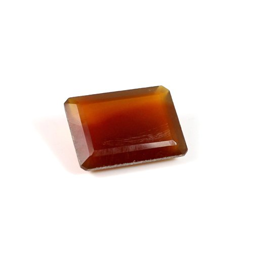 Natural Red Onyx Gemstone Octagon Faceted 13x18mm 11.65 Cts Loose Gemstone