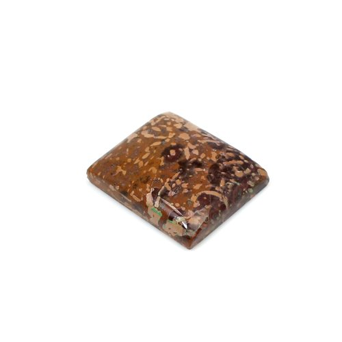 Newest Collection Natural Mushroom Jasper 21x18mm Rectangle Cabochon 20.15 Cts Loose Gemstone