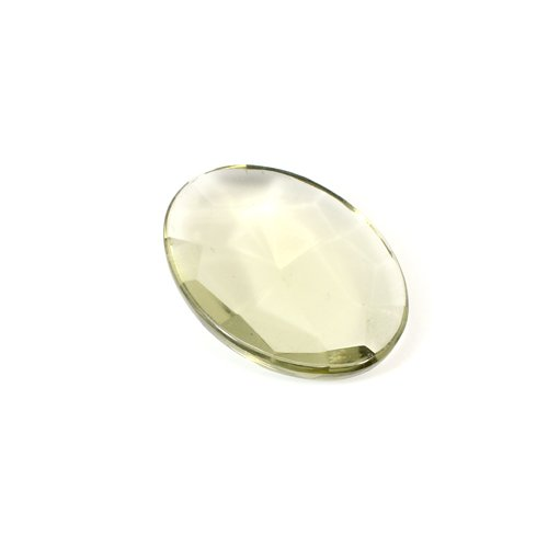 Newest Selling Natural Smoky Hydro 40x30mm Oval Rose Cut 72.65 Cts Loose Gemstone