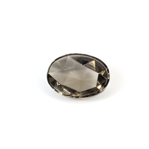 Newest Selling Natural Smoky Quartz 18x13mm Oval Rose Cut 11.10 Cts Loose Gemstone